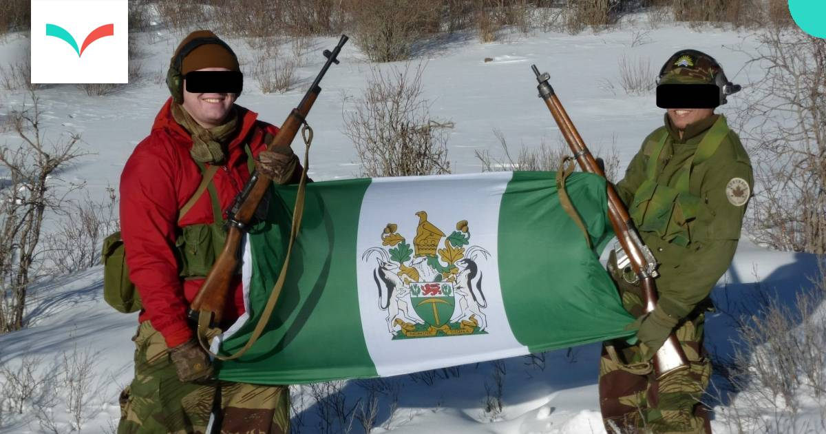 Meet the Canadian soldiers behind a white supremacist military